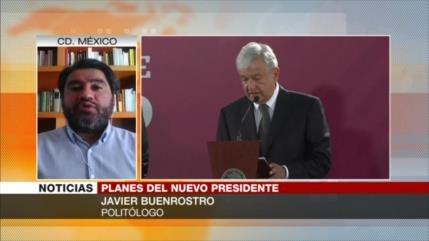 Buenrostro: Los mexicanos están a favor de planes de López Obrador