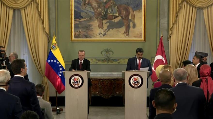 Turquía y Venezuela renuevan alianzas políticas