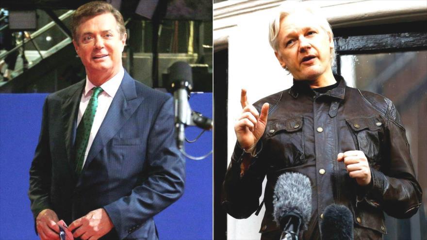 Moreno y Manafort hablaron sobre la entrega de Assange a EEUU