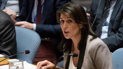 EEUU exige a la ONU respaldar resolución contra HAMAS