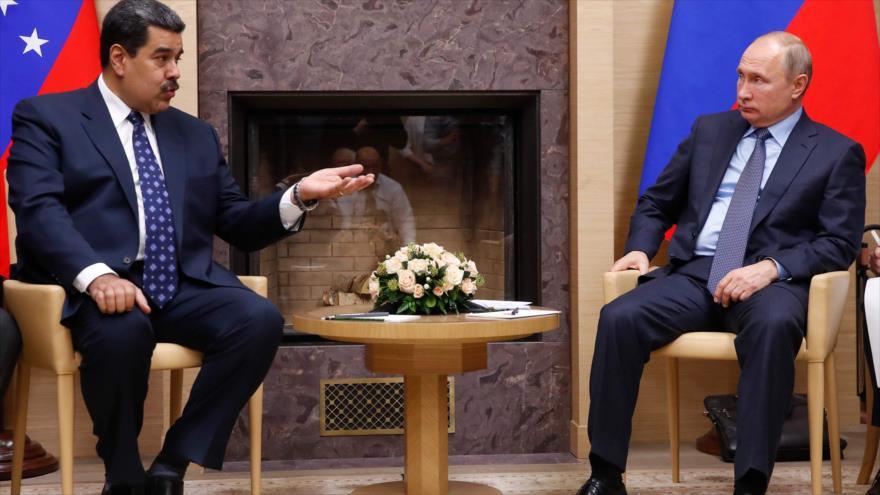 Rusia rechaza cambio de poder por fuerza en Venezuela