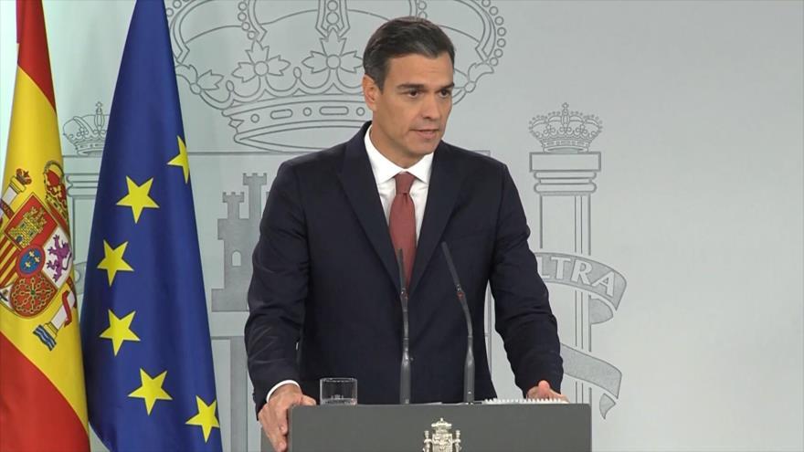 España: Sánchez anuncia que presentará los Presupuestos