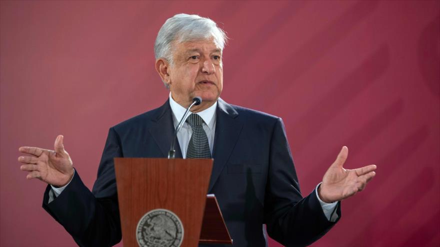 El presidente de México, Andrés Manuel López Obrador, Ciudad de México, 3 de diciembre de 2018.