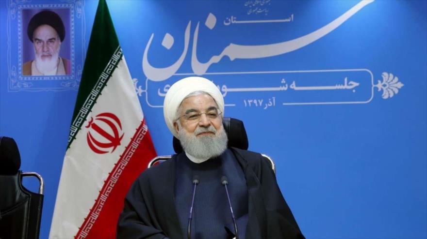 Rohani: Irán dialogará con EEUU si acepta posición justa de Teherán