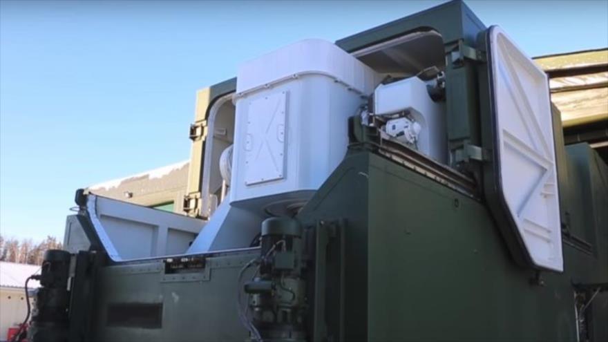 Vean en pleno servicio a sistema láser de combate ruso Peresvet