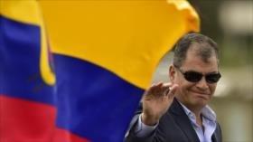 Correa: Negativa de captura de Interpol prueba que todo fue fraude