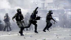 Argentina defiende uso de armas de fuego : no es nada 'fascista'