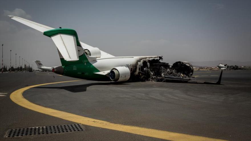 Ansarolá cerrará aeropuerto de Saná si no se reanudan vuelos civiles
