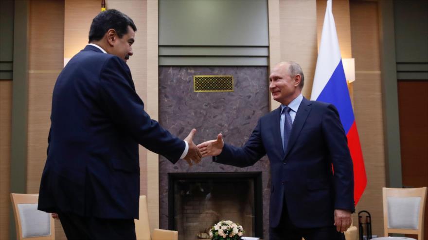 Maduro y Putin firmarán acuerdos en defensa, petróleo y comercio