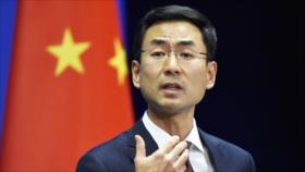 China repudia 'sanciones unilaterales' de EEUU contra Irán