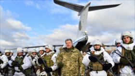 Vídeo: Ucrania refuerza frontera con Rusia y prueba misiles