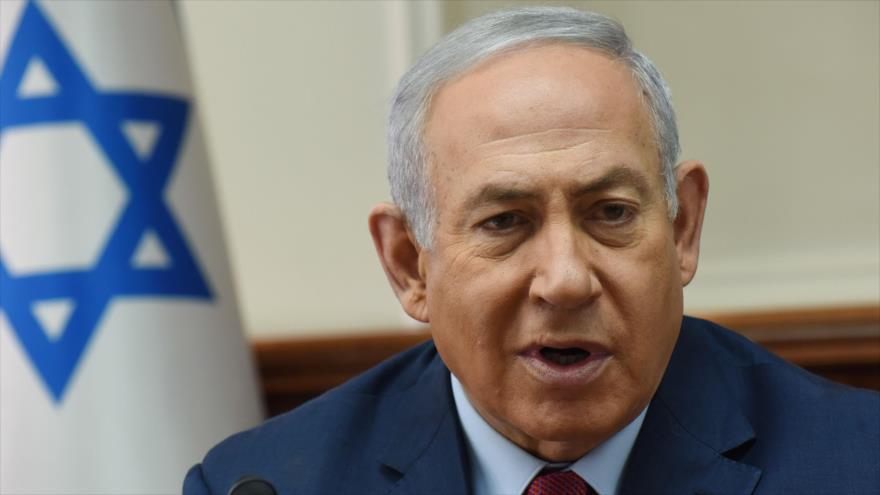 El primer ministro israelí, Benjamín Netanyahu, se reúne con un comité ministerial en Al-Quds (Jerusalén), 5 de diciembre de 2018. (Foto: AFP)