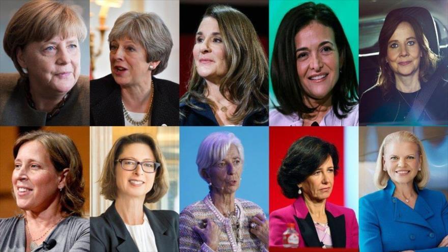 10 de las mujeres más poderosas del mundo según Forbes.