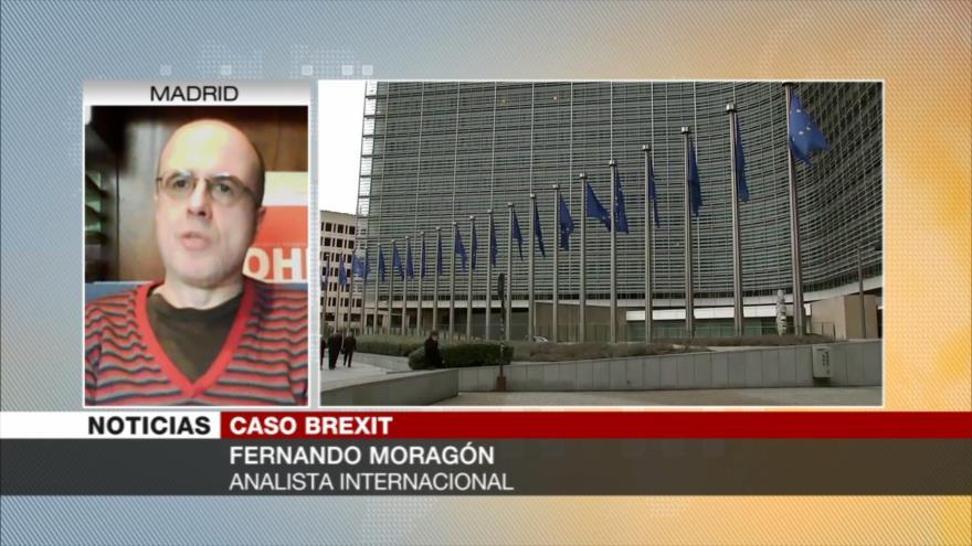 Moragón: Brexit podría acabar derrumbando al Reino Unido