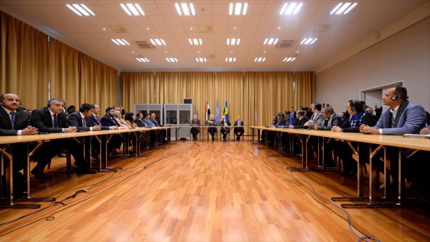 Reunión en Suecia con representantes de Yemen, Ansarolá y Arabia Saudí