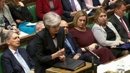 Primera ministra británica admite: Es posible que no haya Brexit