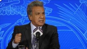 Moreno niega haber dialogado con asesor de Trump sobre Assange
