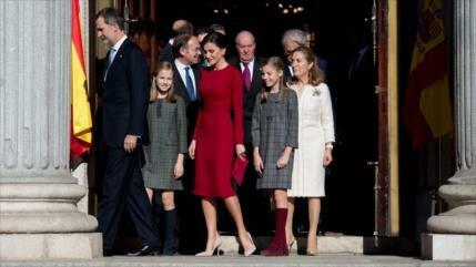 Iglesias critica a Felipe VI por no tocar en discurso la corrupción
