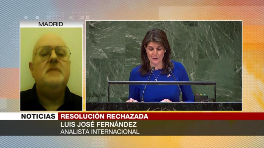 Fernández: EEUU fracasa otra vez en la ONU por la causa palestina