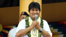 Morales denuncia ataques de los derechistas a los policías