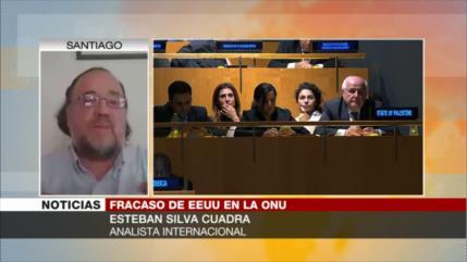 Silva Cuadra: Rechazo a borrador de EEUU en ONU sienta precedente