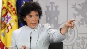 Gobierno español avisa a PP y Cs de amenaza de Vox para democracia