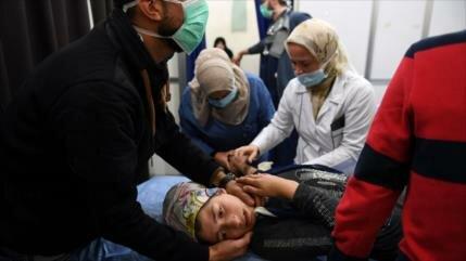 Rusia confirma uso de armas químicas por terroristas en Alepo