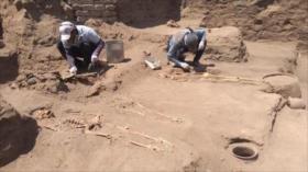 Descubren en Perú tumbas de niños prehispánicos con amputaciones