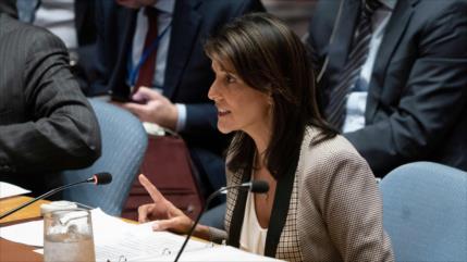 """Haley revela cómo usó """"teoría del loco"""" para sancionar a Pyongyang"""