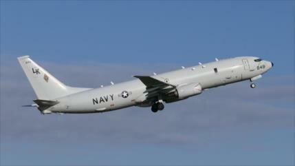 Avión espía de EEUU monitorea bases militares rusas en Siria