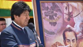 Morales critica a la derecha por convulsionar Bolivia