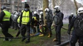 70 detenidos en Bélgica en las protestas de 'chalecos amarillos'