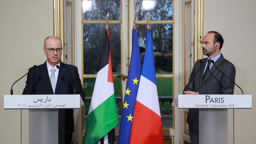 Francia insta a Israel a levantar bloqueo contra la Franja de Gaza