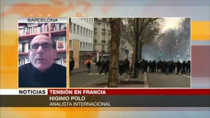 Protestas, resultado de la insatisfacción por medidas de Macron