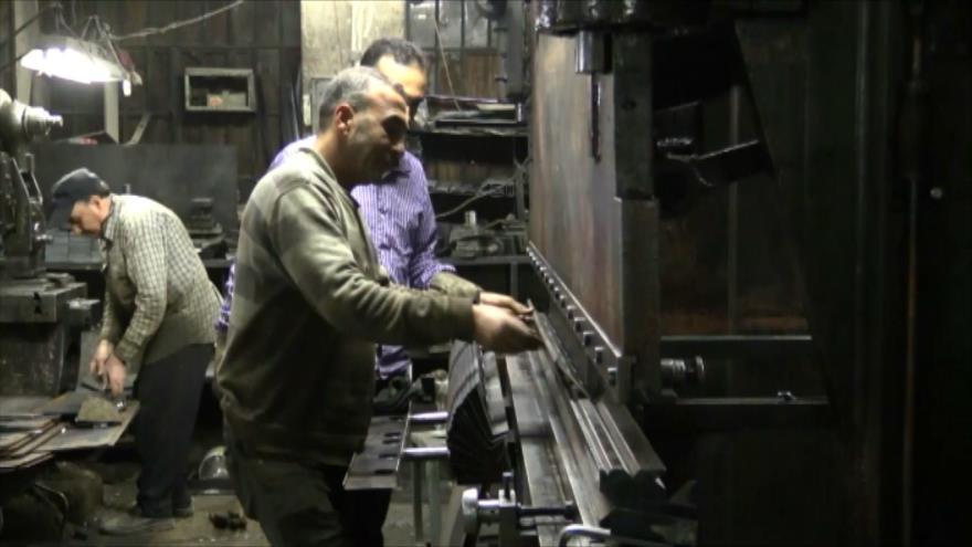 Decenas de fábricas reabren en el este de Damasco