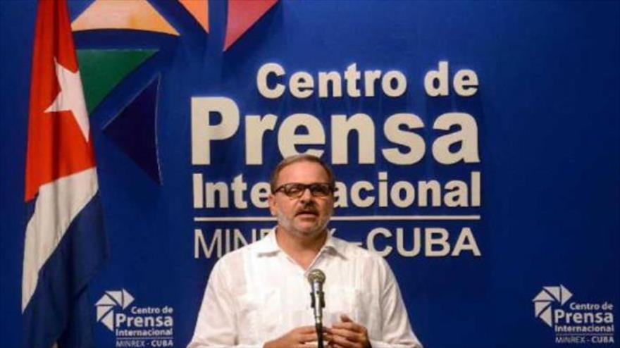 Eugenio Martínez, director general de América Latina y el Caribe del Ministerio de Relaciones Exteriores de Cuba.