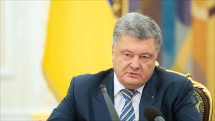 """Poroshenko pide a EEUU """"armas letales"""" para hacer frente a Rusia"""
