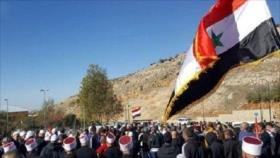Residentes del Golán rechazan judaización de la meseta por Israel
