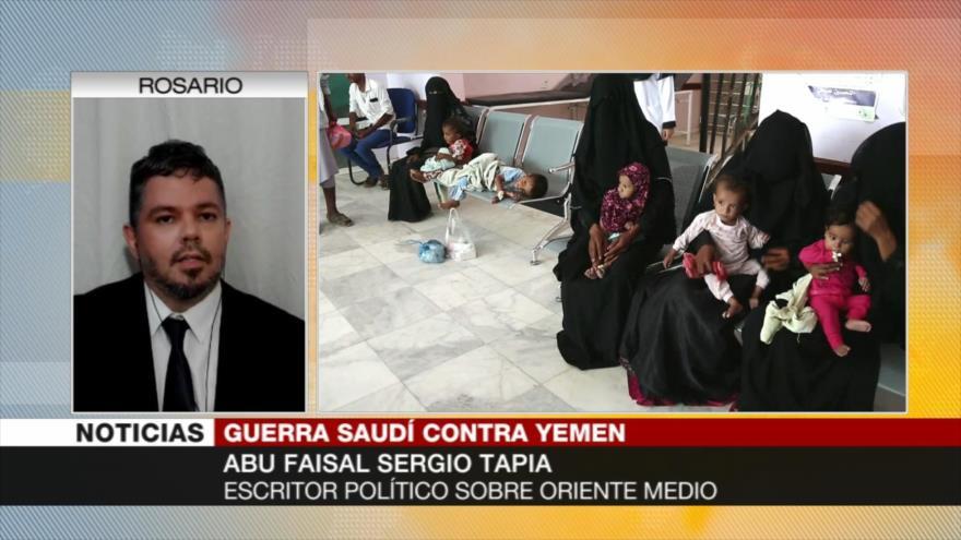 Tapia: Doble estándar del Occidente empeora la crisis en Yemen