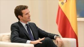 Casado pide al Gobierno español que ponga orden en Cataluña