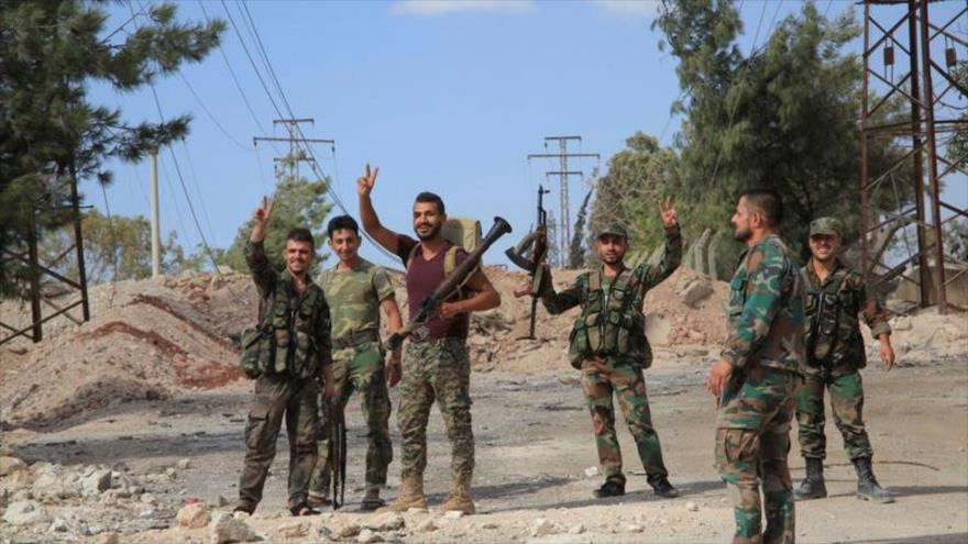 Comandante rebelde apoyado por Turquía se rinde al Ejército sirio