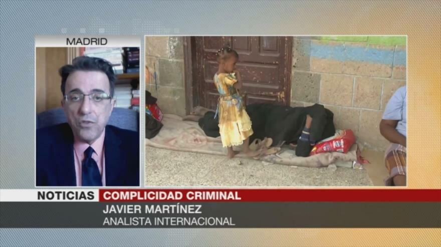 """Martínez: Hay """"contradicción"""" en políticas de EEUU hacia Yemen"""