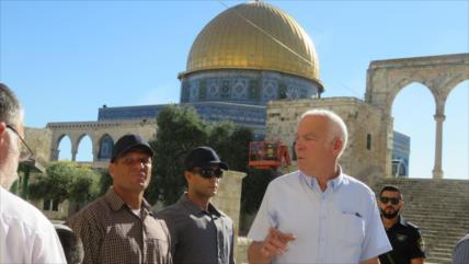 Vídeo: Ministro israelí y colonos irrumpen en la Mezquita Al-Aqsa