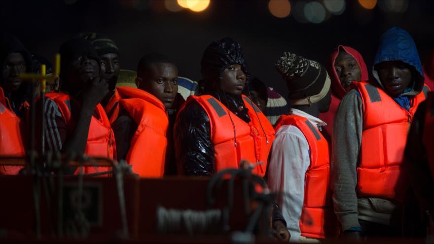 Al menos 535 migrantes llegan a las costas andaluzas