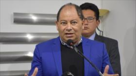 """Bolivia denuncia """"montaje"""" de opositores para imponer ideología"""