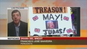 José Saavedra: Parlamento británico no votará a favor del Brexit