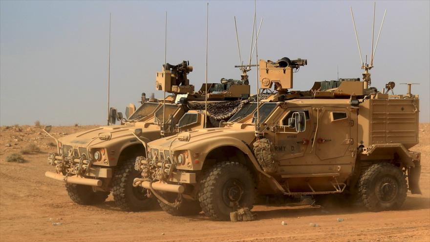 Coalición de EEUU crea otra base militar en frontera sirio-iraquí
