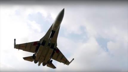 Vídeo: China prueba sus cazas Su-35 rusos de cuarta generación