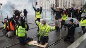 Que Kiev acuse a Rusia de las protestas en Francia es ridículo
