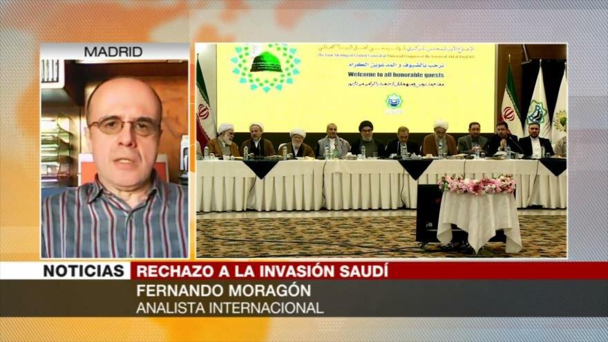 Moragón: Arabia Saudí está estancado en Yemen como EEUU en Afganistán